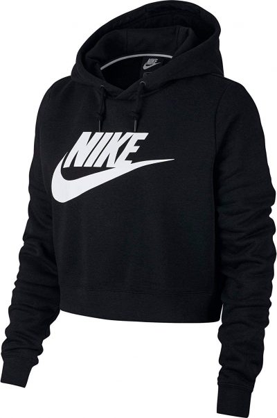 Sudadera corta con capucha Nike Sportswear Rally para mujer