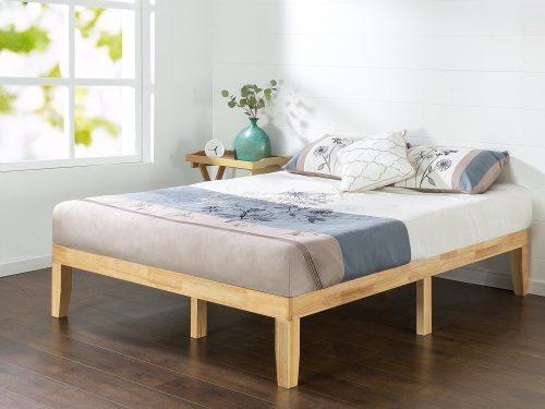 Plataformas de cama de madera con plataforma de madera Zinus de 14 pulgadas