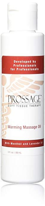 Aceite de masaje para aliviar el calentamiento del calor Prossage