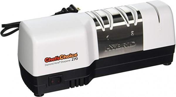 10. Chef'sChoice 270 Afilador de cuchillos de 3 etapas