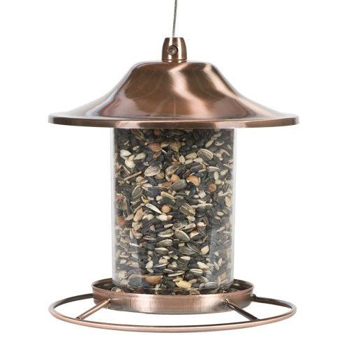 Comedero para pájaros panorámico de cobre Perky-Pet 312C