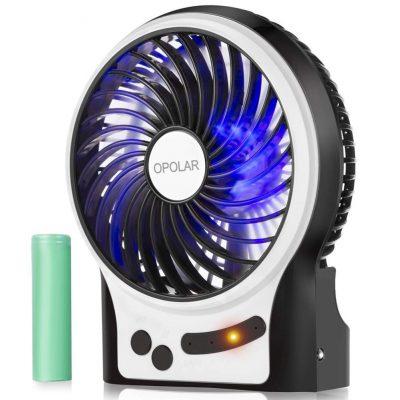 Mini ventilador de viaje portátil OPOLAR