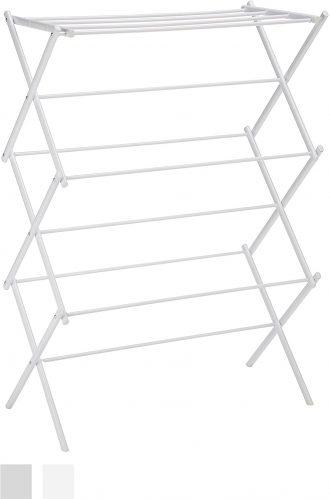 Rack de secado plegable AmazonBasics Rack de secado de ropa plegable