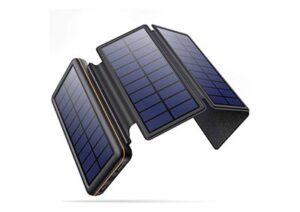 Los 10 cargadores solares para móvil más vendidos