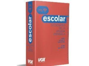 Diccionarios escolares