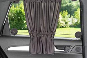 Las 10 cortinas para ventanas de coches más vendidas