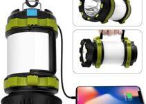 Las 10 linternas de camping más vendidas