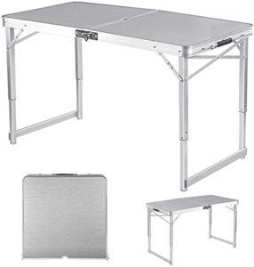 Las 10 mesas plegables de aluminio más vendidas