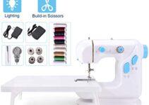 Las 10 mini máquinas de coser portátiles más vendidas