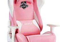 Las 10 sillas de oficina de color rosa más vendidas
