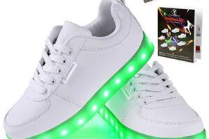 Las 10 zapatillas con luces para mujer más vendidas