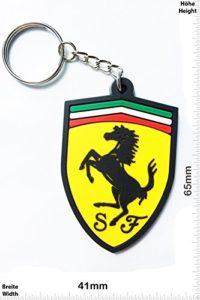 Los 10 llaveros de coches Ferrari más vendidos