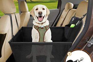 Los 10 asientos de coche para perros más vendidos