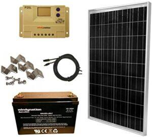 Los 10 paneles solares de 100 vatios más vendidos