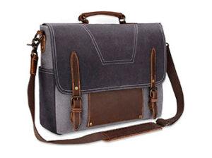 maletines de cuero para portátil para hombre