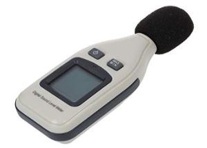 Buwei Medidor de Nivel de Sonido Digital AS804 30-130db Medidor de decibelios Probador de monitoreo de Ruido Sensor Inteligente Analizador de Detector de Ruido DB