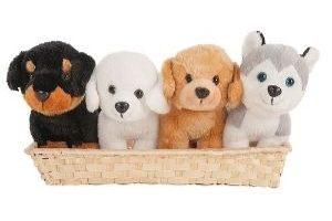 Perros de peluche