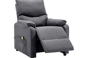 Los 10 sillones reclinables ergonómicos más vendidos