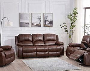 Los 10 sofás reclinables de cuero más vendidos