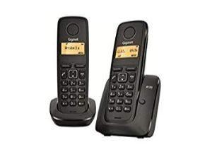 Teléfonos inalámbricos duo